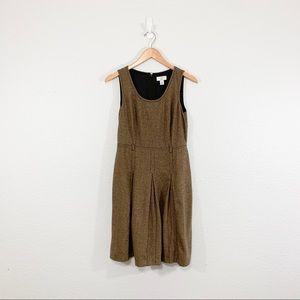 4FOR$20/Ann Taylor LOFT Sleeveless Tan Dress Sz 8P